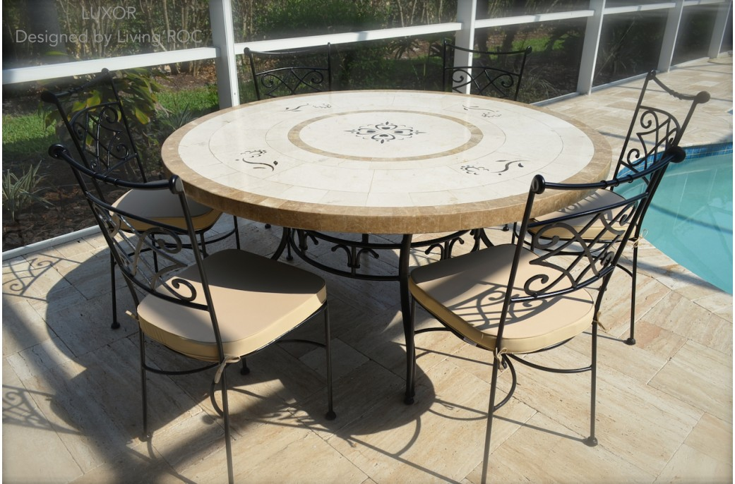 kettler 4 seater mosaic outdoor dining table how to make an tile garden marble