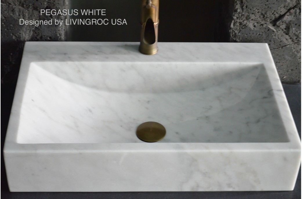 600 White Marble Basin Bathroom Sink faucet hole PEGASUS  : 600 white marble bathroom sink faucet hole pegasus white from www.livingroc.co.uk size 1041 x 686 jpeg 97kB